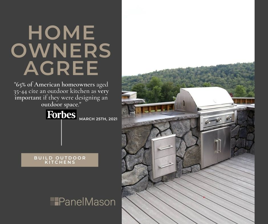 Homeowners Want Outdoor Kitchens