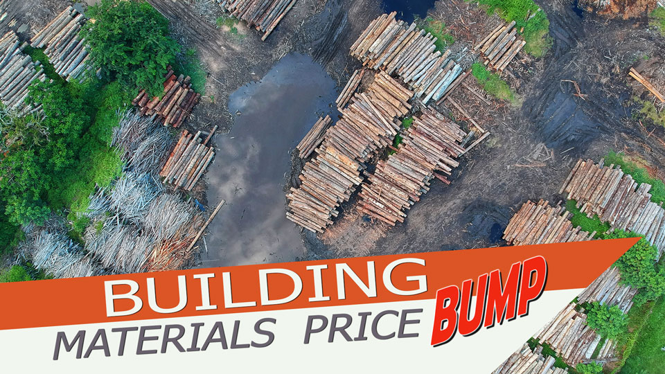 New Material Prices Bump Construction Costs For Builders